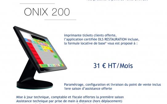Promotion 2020 ONIX 200